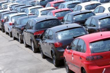 Automobilių pardavimai Anglijoje išaugo 11 proc.
