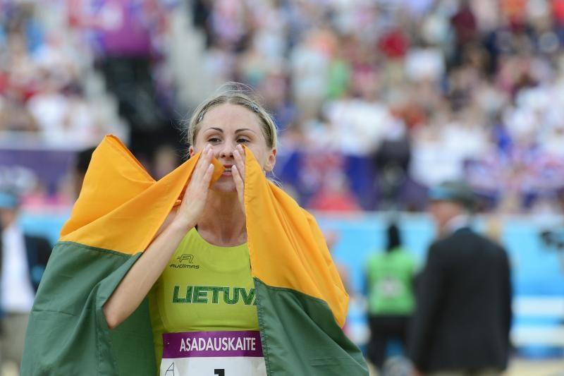 Laura Asadauskaitė - Londono olimpinių žaidynių čempionė