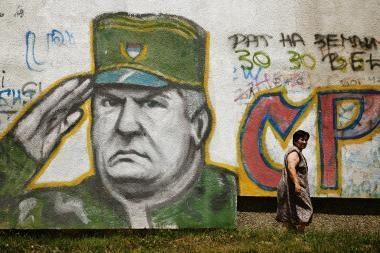 Serbija padidino atlygį už R.Mladičių 10 kartų