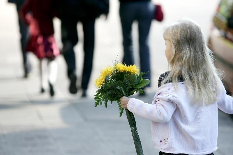 Siūloma tėvams suteikti laisvą pusdienį rugsėjo 1-ąją