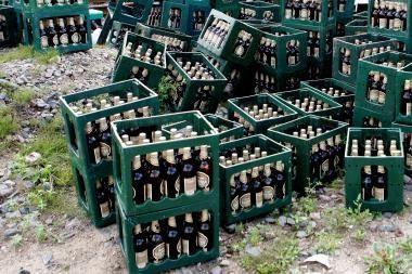 Iš karo veteranų sąskrydžio buvo pavogta 420 litrų alaus
