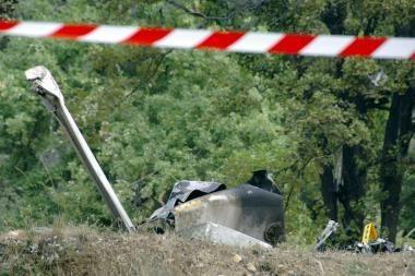 Prancūzijoje susidūrus dviem lėktuvams žuvo keturi žmonės