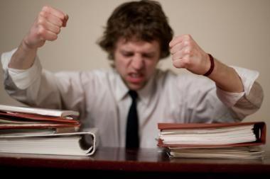 Ką daryti, kai darbas tampa kančia