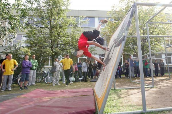 Vilniaus šokliai atverė naują