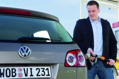 """Volkswagen"" pristato naują ""Golf Plus BiFuel"""