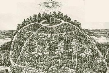 Lietuvos Birutės susitiko Birutės kalne