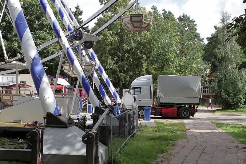 Olandų atrakcionų parkas išsikrausto iš Palangos (papildyta)