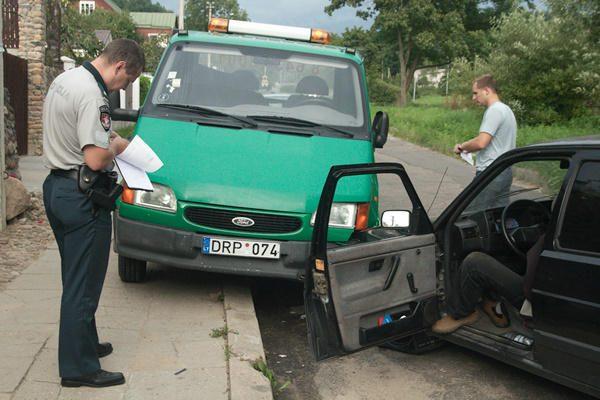 """Vilniuje siautėjo """"kelių budulis"""""""