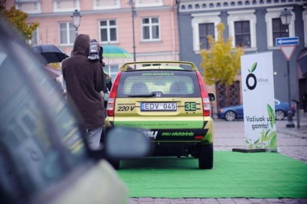 Lietuvoje įregistruotas pirmasis elektromobilis