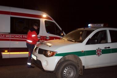 Automobilio partrenktas šiaulietis, mirė ligoninėje