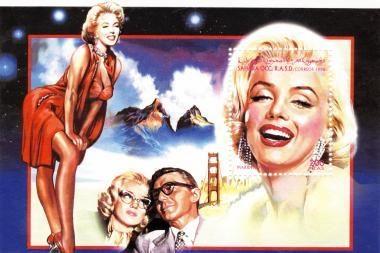 Kino dievaitės Monroe vidiniai išgyvenimai aprašomi naujoje knygoje