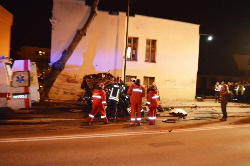 Tragišką avariją sukėlusio BMW vairuotojo organizme rasta narkotikų