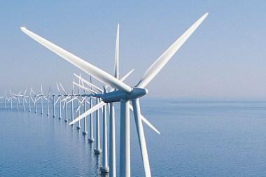 Didžiojoje Britanijoje pradėjo veikti didžiausias pasaulyje vėjo jėgainių parkas