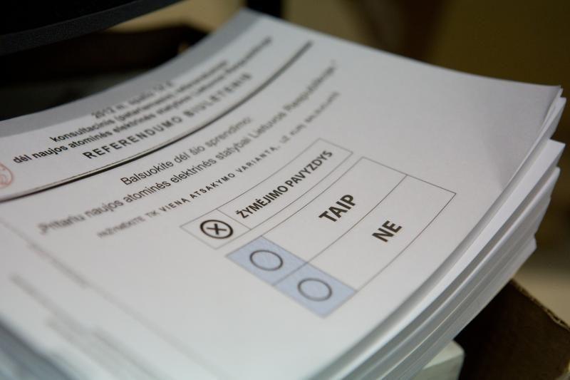 Seimo rinkimuose prasideda balsavimas namuose