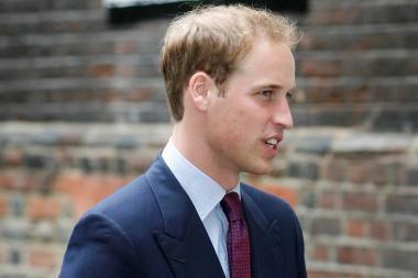 Britanijos princas Williamas dalyvavo savo pirmojoje gelbėjimo operacijoje