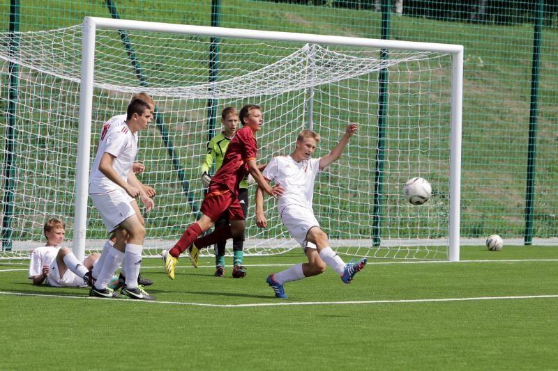 Futbolo turnyre Klaipėdoje triumfavo latviai