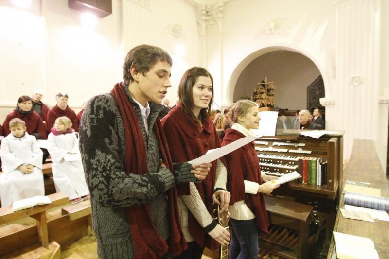 Klaipėdoje skambėjo Kalėdų            giesmės