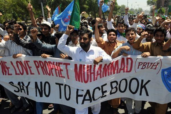 """Pakistane po """"Facebook"""" uždarytas ir """"YouTube"""""""