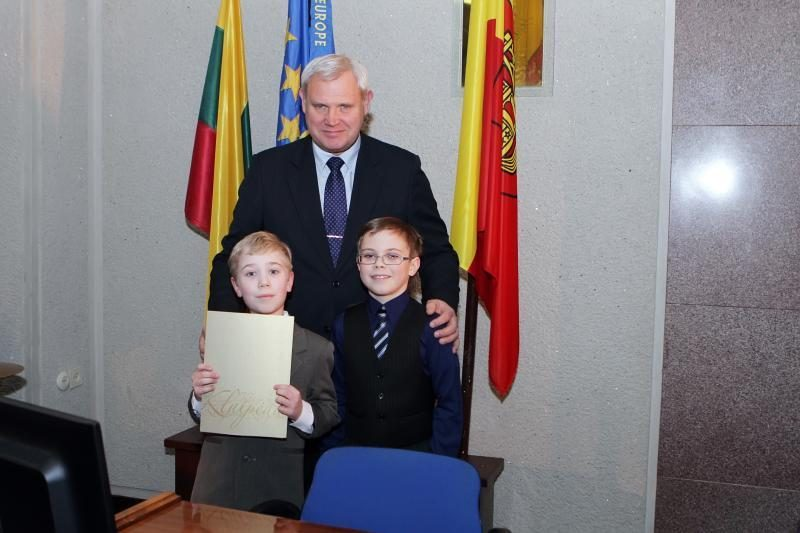 Gabiausiems Klaipėdos moksleiviams – mero sveikinimai