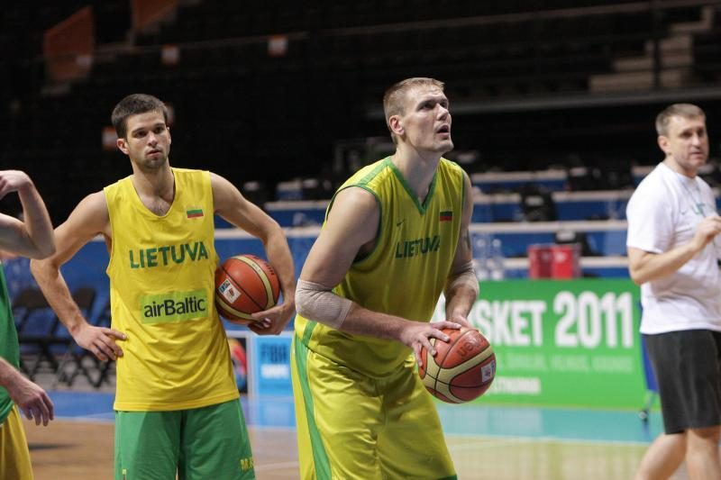 J.Valančiūnas: Makedonija - gera ir ambicinga komanda