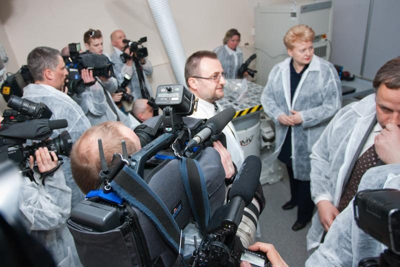 Dalia Grybauskaitė: esame išradėjų tauta