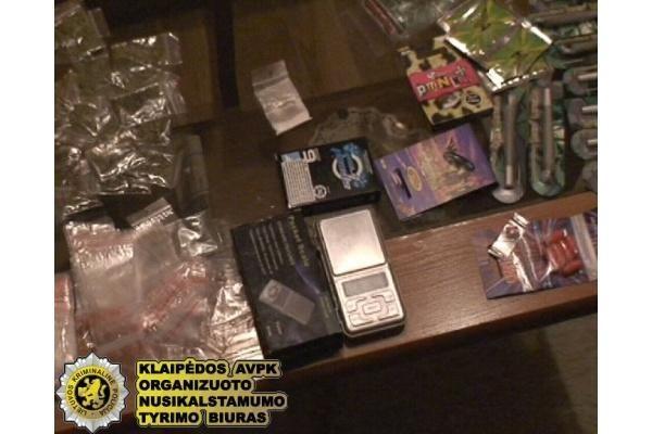 Jaunimą nuodijo egzotiškais narkotikais