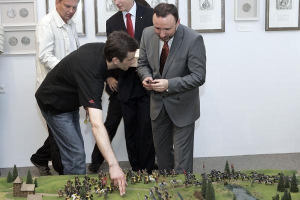 Vilniuje pristatytas Žalgirio mūšio maketas