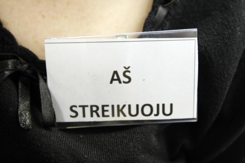 Žemaitijos pedagogai streiką atideda iki gegužės 7-osios