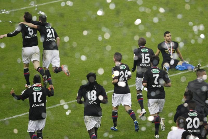 "Liono ""Olympique"" klubas iškovojo Prancūzijos futbolo taurę"