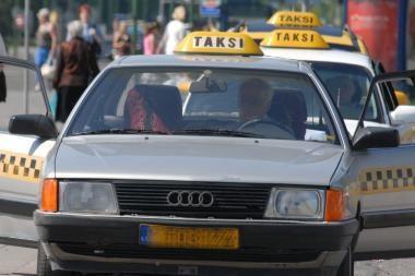 Klaipėdos r. užsimušė taksistas