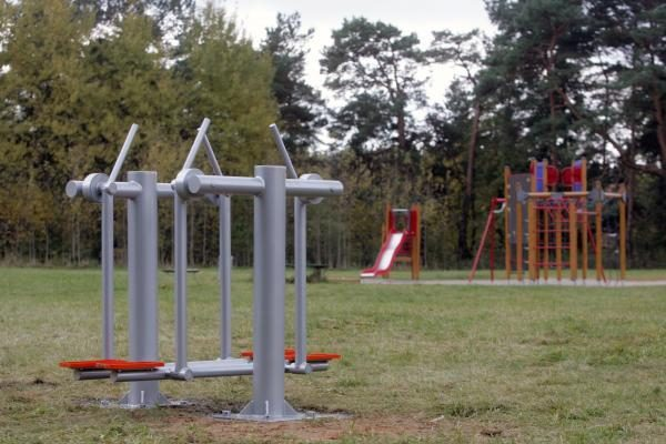 Vilniuje – pirmieji treniruokliai senjorams gryname ore