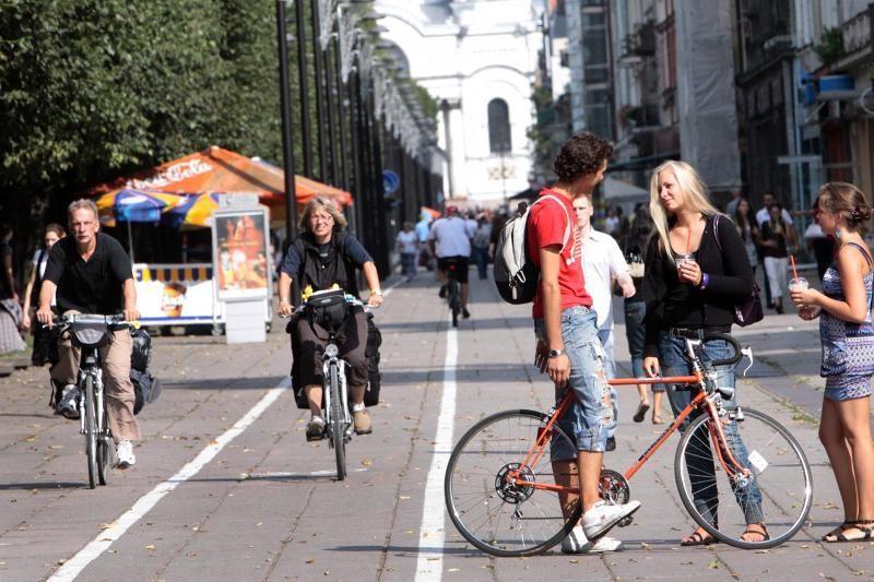 Laisvės alėjos dviračių taką sujungs su krantine