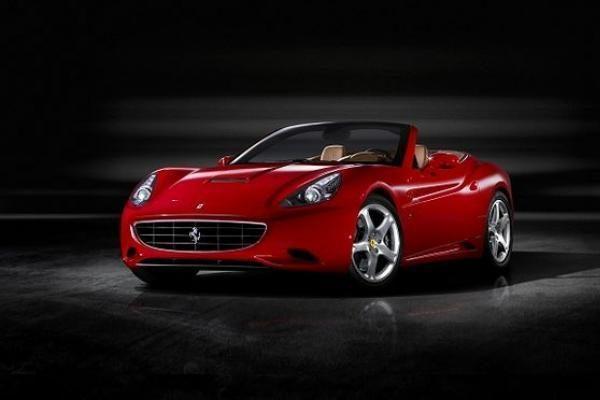 "Išankstinė ""Ferrari California"