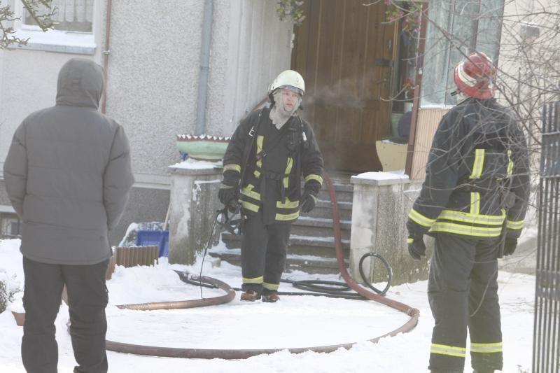 Klaipėdos apskrities ugniagesiams - darbų karštymetis (papildyta)
