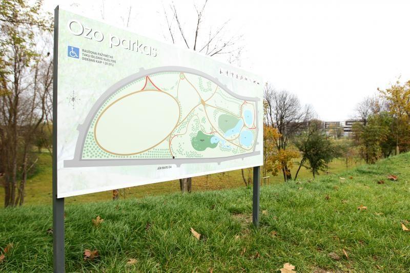 Naujasis Ozo parkas kol kas atrodo skurdokai