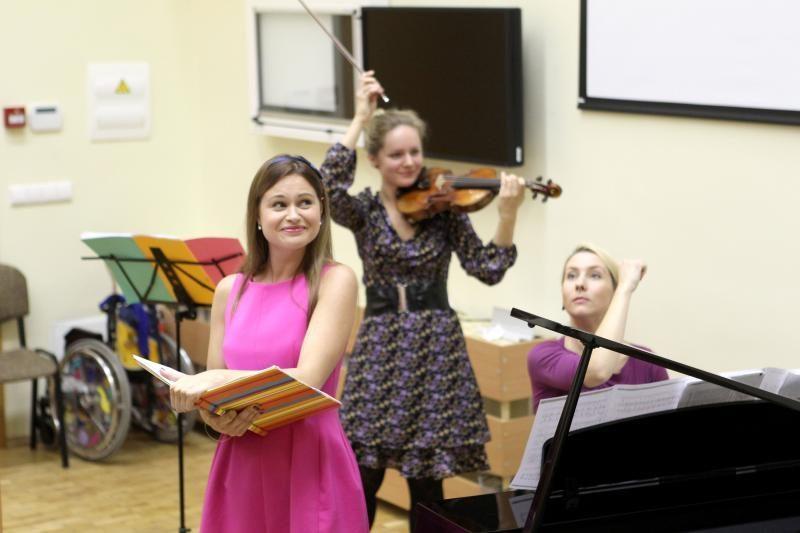 Santariškių vaikų ligoninėje – labdaringas koncertas