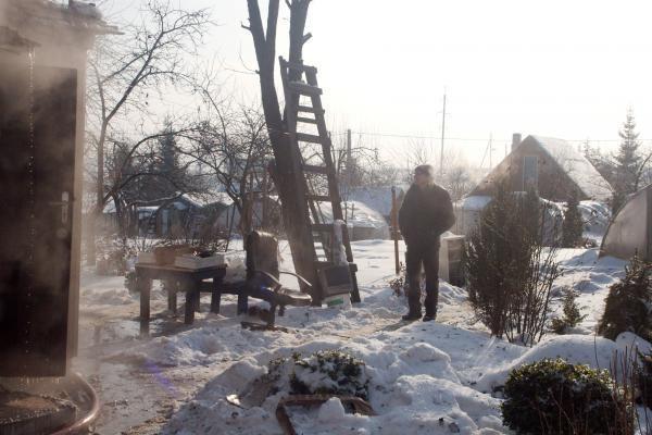 Sostinės pakraštyje sudegė gyvenamasis namas