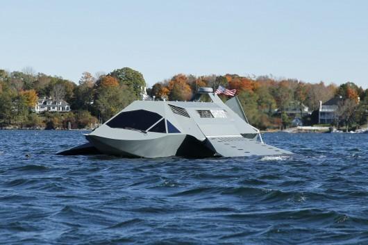 GHOST: pirmasis pasaulyje naujo tipo karinis laivas