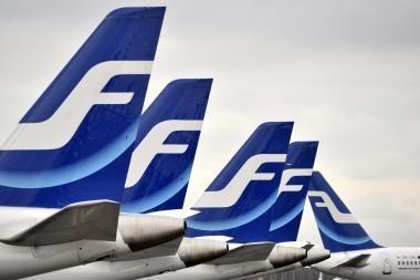Suomijos oro uostų darbuotojams baigus streiką skrydžių tvarkaraštis grįžta į įprastas vėžes