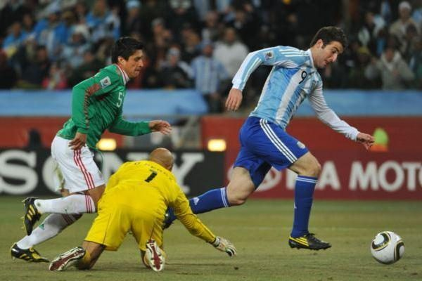 Ketvirtoji ketvirtfinalio dalyvė – Argentinos rinktinė