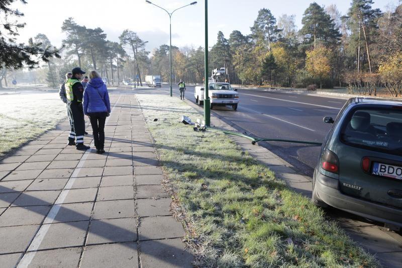 Uostamiesčio gatvės virto čiuožykla (papildyta)
