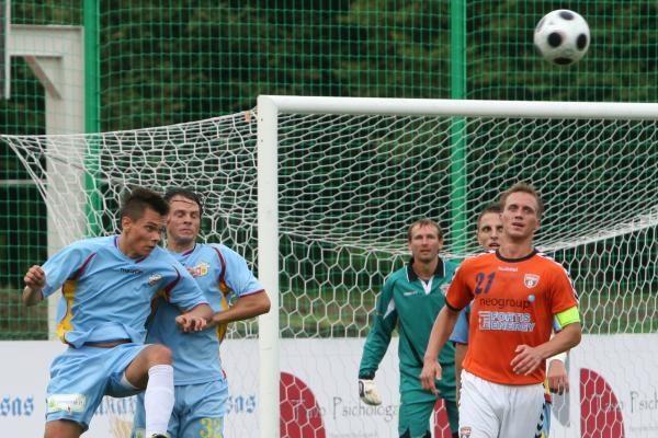 """LFF taurė: pajūrio derbyje triumfavo """"Banga"""""""