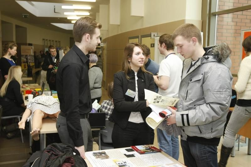 Klaipėdos universitetas moksleivius pakvietė į atvirų durų dieną