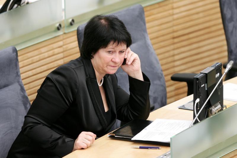 V.Baltraitienė: mitingas prieš teismus skatina diskusijas