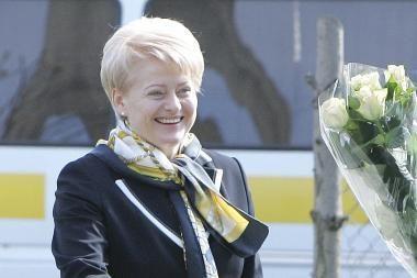Prezidentė priėmė ES ambasadorius Lietuvoje