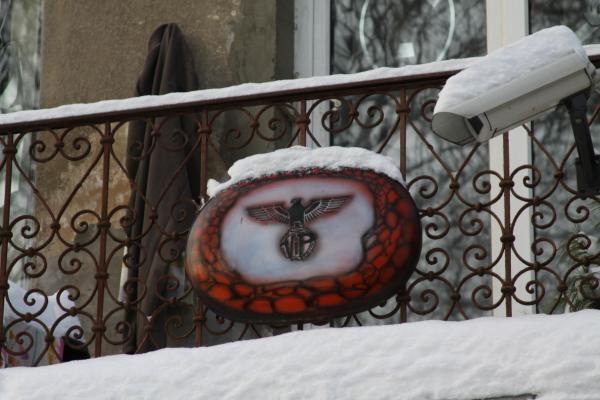 Redakcijos žvilgsnis: svastikos ir kiti demonai Kaune