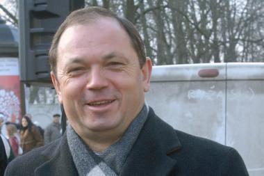 Atleistas vidaus reikalų viceministras A.Vakarinas