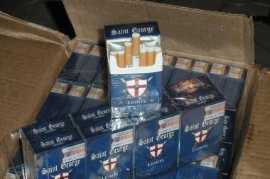 Cigarečių kontrabandininkai apsimetė žvejais