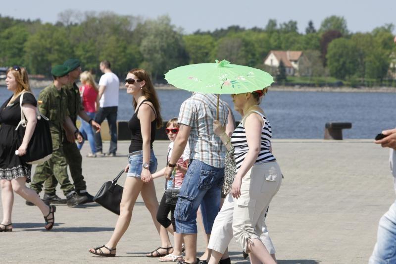 Pajūryje sumuštas 30-ies metų karščio rekordas