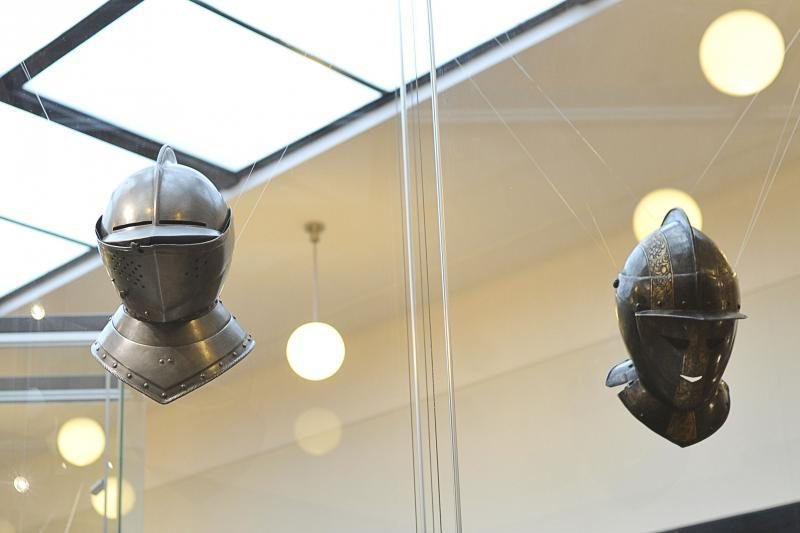 """Į muziejų lankytojus vilioja ir """"mirusiojo galva"""""""